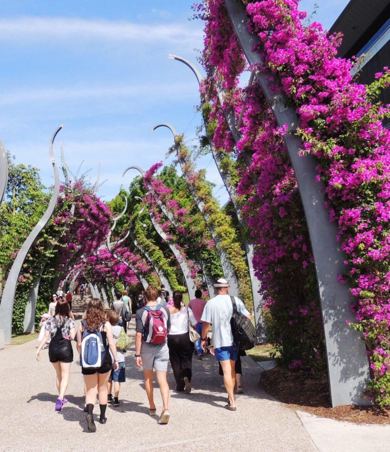 Arbour walk Southbank Parklands Brisbane